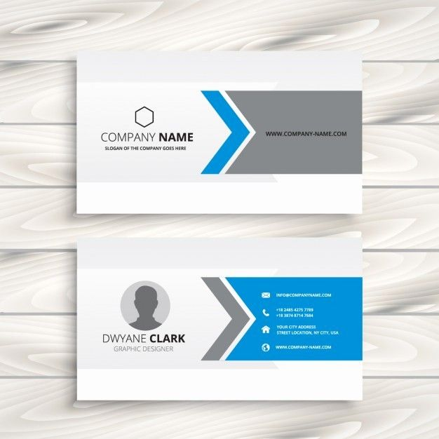 Business Card Template Ai Free Unique Free Download Business Card Templates Ai Vclpages Vector Business Card Free Business Card Design Beautiful Business Card