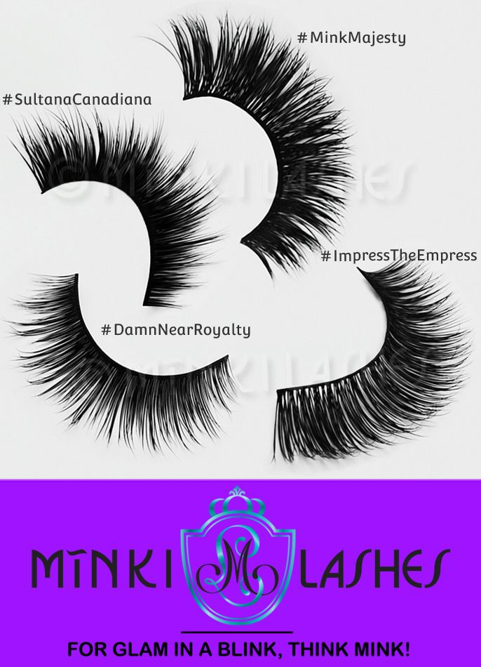 1f2453b765e Luxurious, rich yet natural looking cruelty-free real mink eyelashes by  Minki Lashes in