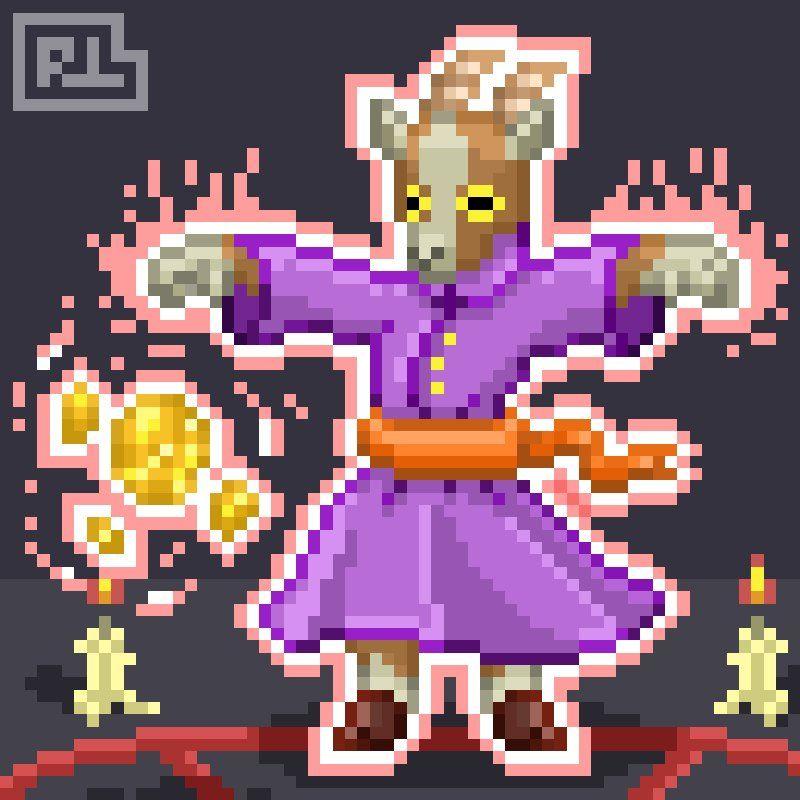 Pixel Characters, Pixel Art, Art