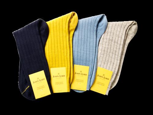 John Lobb - Short Linen Socks