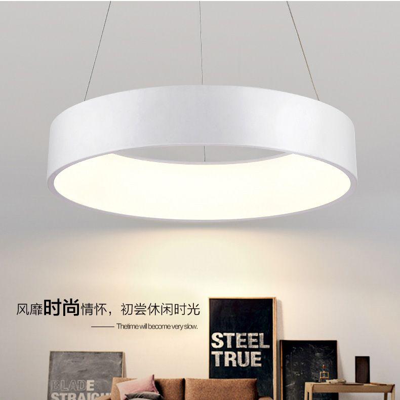 Runden Esszimmer Led Decke Hangige Beleuchtung Einfache Art Und
