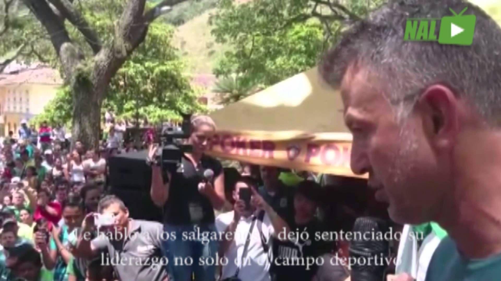 EL PROFE OSORIO VISITÓ A LOS HABITANTES DE SALGAR.