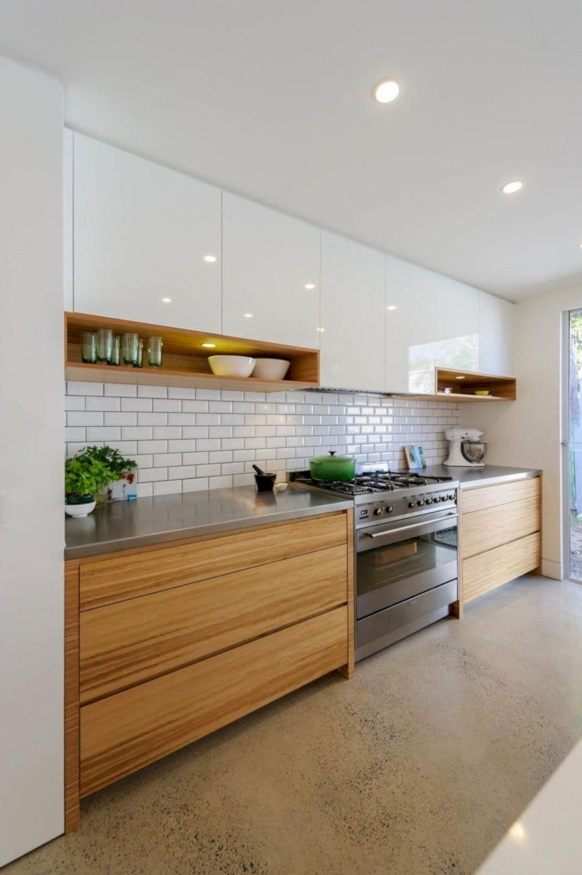 53 Modern Interior Design Ideas That Are Very Popular Http Coziem Com Index Php 2019 01 20 53 Modern In Modern Kitchen Modern Kitchen Design Kitchen Interior