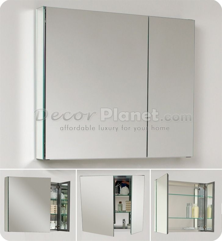 280 30 W Medium Bathroom Medicine Cabinet W Mirrors Medicine
