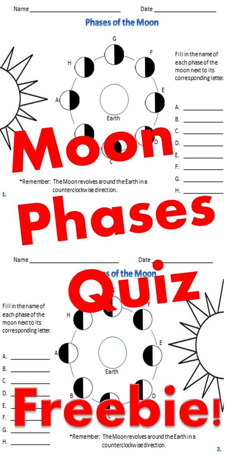 Quiz your students over the phases of the moon phases are shown quiz your students over the phases of the moon phases are shown from 2 different nvjuhfo Image collections