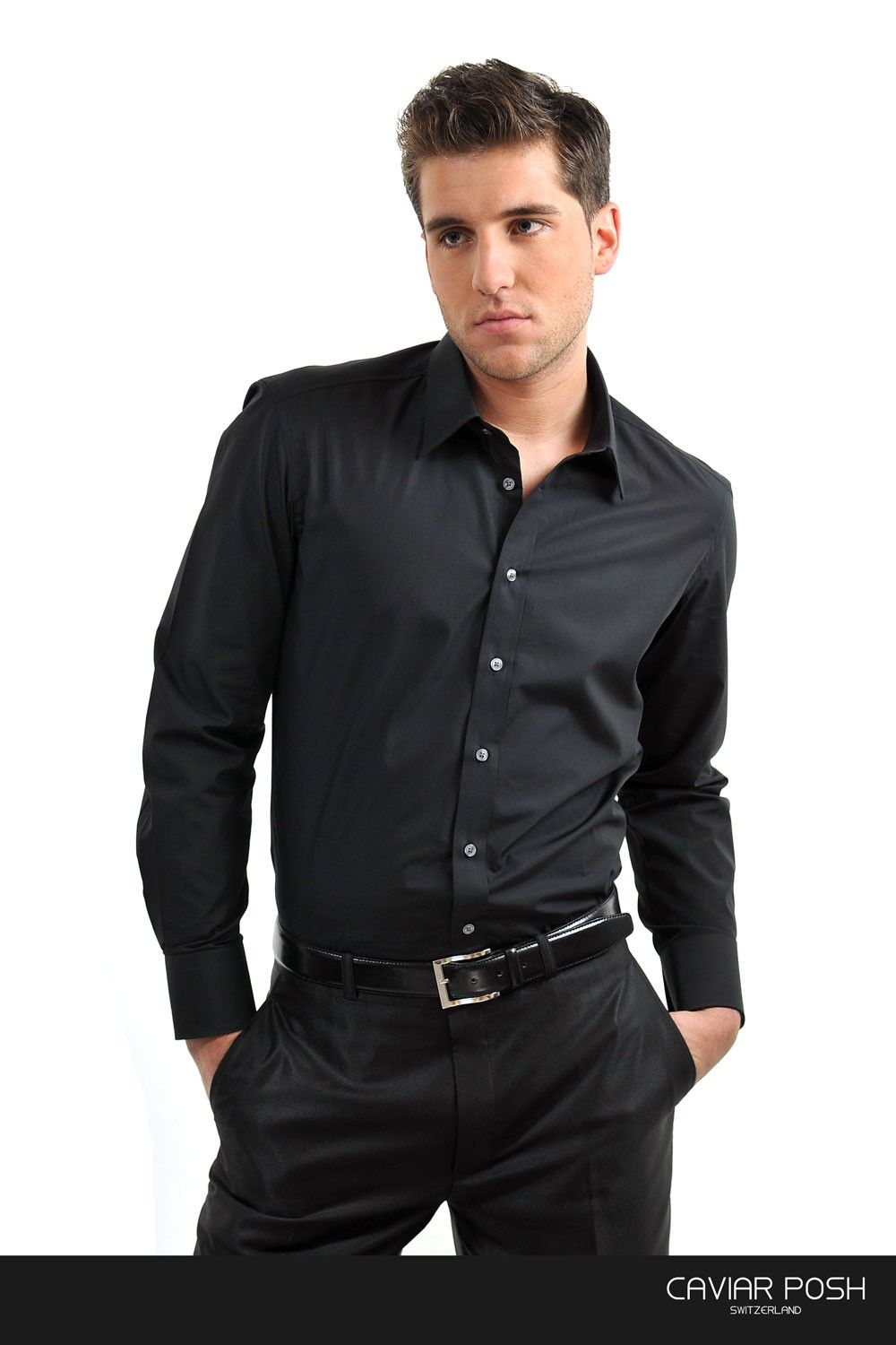 33e330d8d2 black shirt and black pants