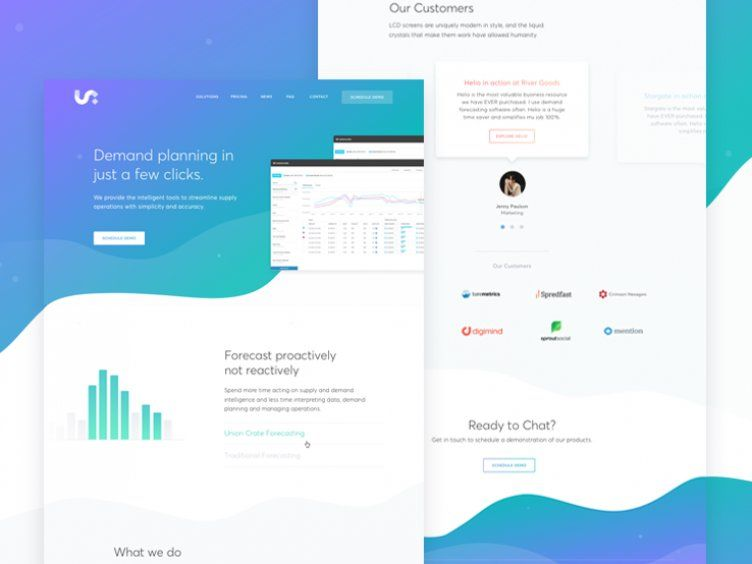 Marketing Page Forecasting Tool In 2020 Web Layout Design Wordpress Web Design Website Design Wordpress