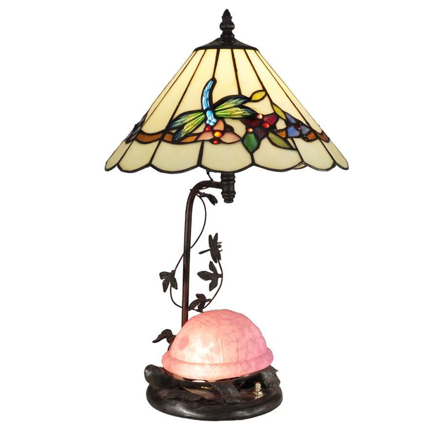 Dale tiffany pink turtle table lamp with night light tt13002 dale tiffany pink turtle table lamp with night light tt13002 ebay geotapseo Images