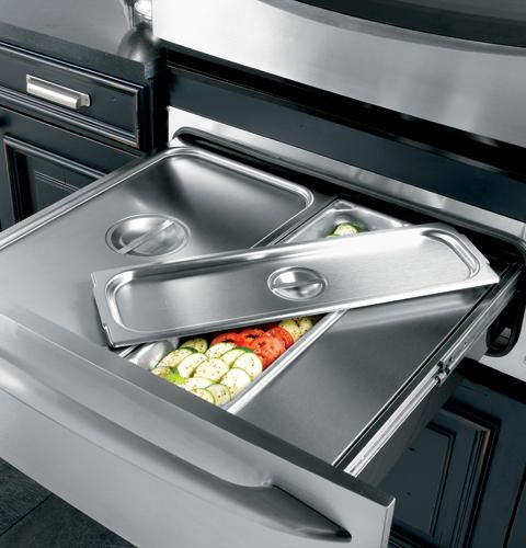 This Warming Drawer Perfect For Heating Bread Or Vegetables And Is