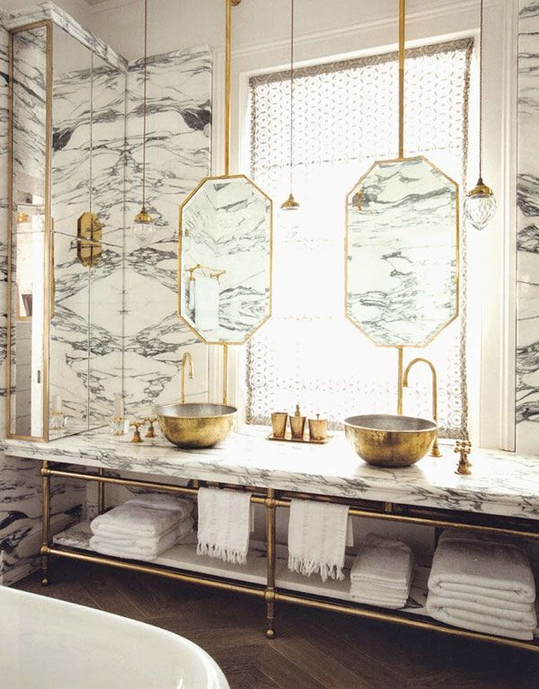 10 Affordable Marble Accessories | Apartment34 | Bathrooms