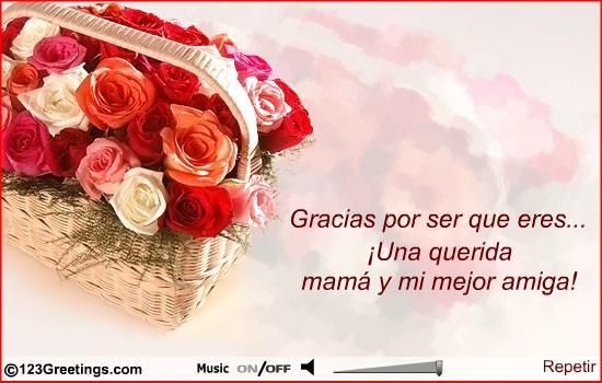 Bday Wish For Mom In Spanish