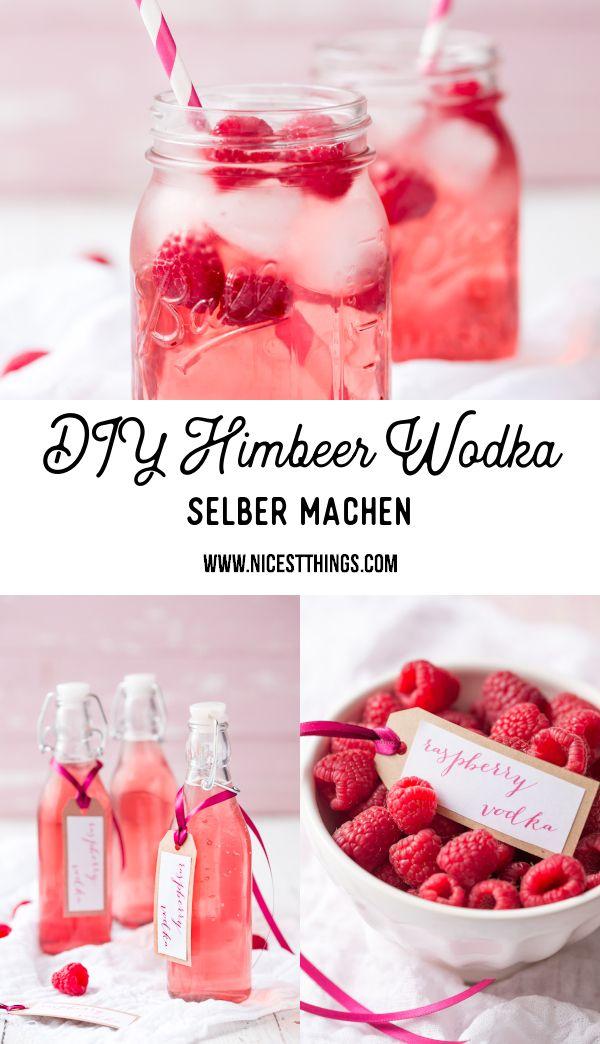 Valentinstag Geschenke: Himbeer Wodka, Herz Churros und DIY Becher mit Herz - Nicest Things