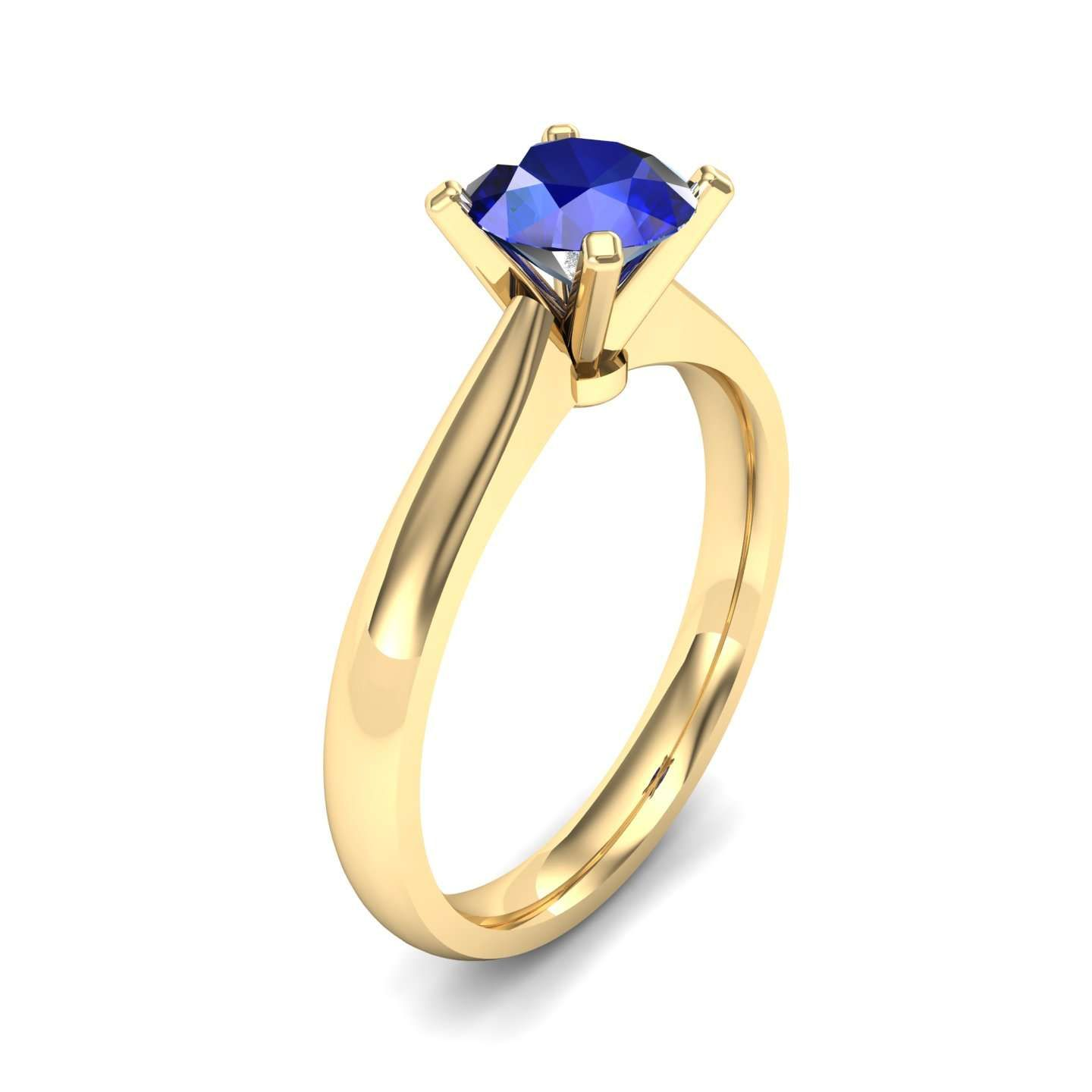 listing zoom green cushion half il fullxfull blue solitaire bezel ring engagement sapphire cut