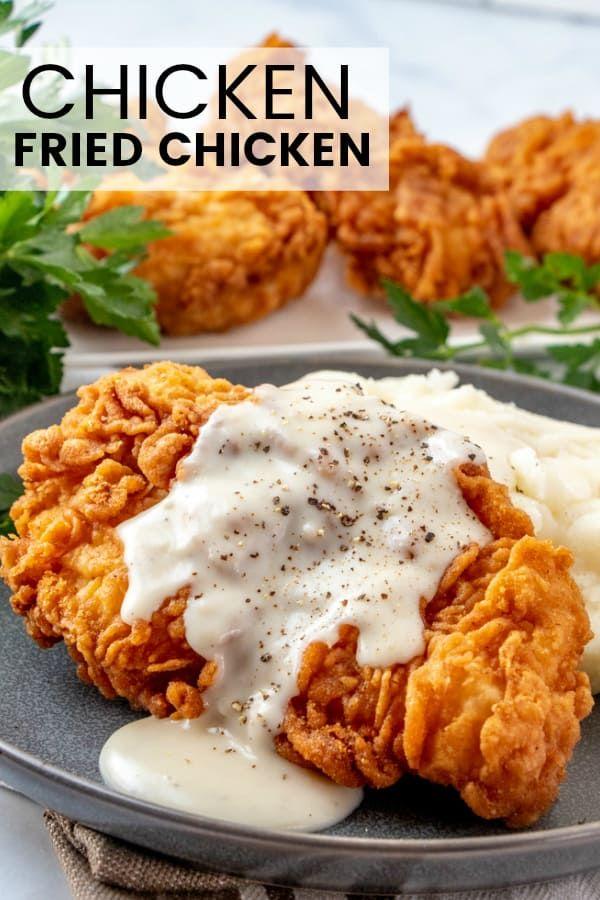 Chicken Fried Chicken - Tornadough Alli