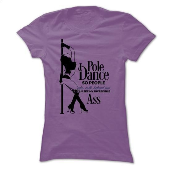 I Pole Dance! - silk screen #shirt #clothing