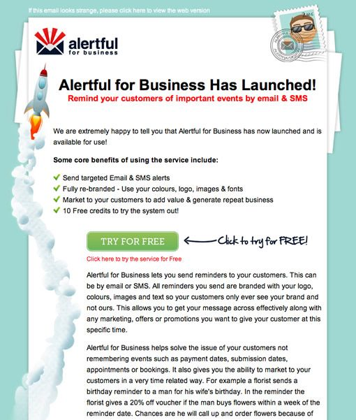 Alertful for business by email spring httpemailspring alertful for business newsletter design by email spring pronofoot35fo Choice Image