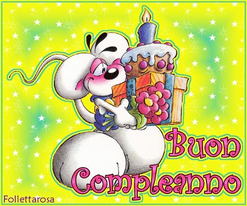 Populaire Cartoline compleanno | Auguriiiii | Pinterest | Compleanno  FO19