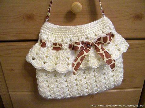 Purse crochet | กระเป๋าโครเชต์ | Pinterest