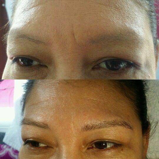 The Brow Secret transformation EyeBrow extensions va beach ...