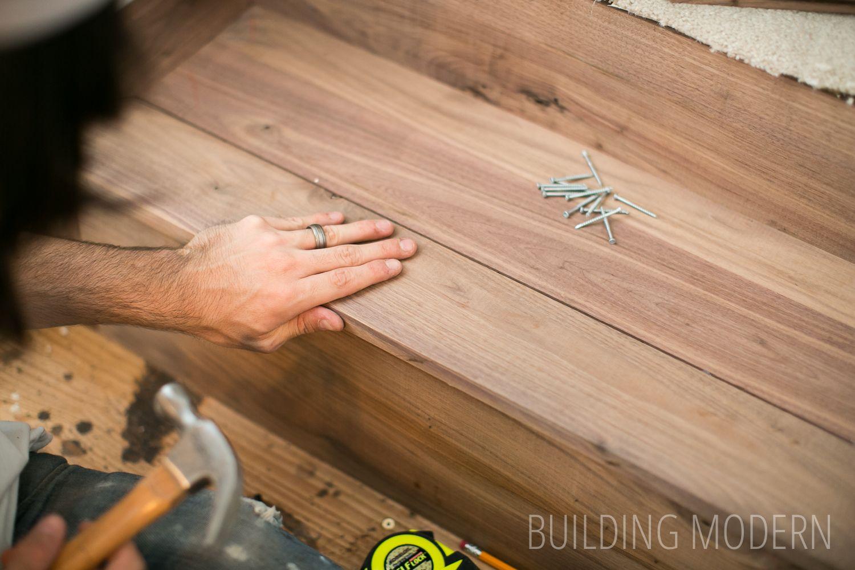 Best Foyer Stairs Installing Hardwood Treads Hardwood 400 x 300