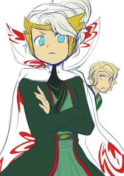 Princess Harumi and Master Lloyd #NinjagoSonsOfGarmadon