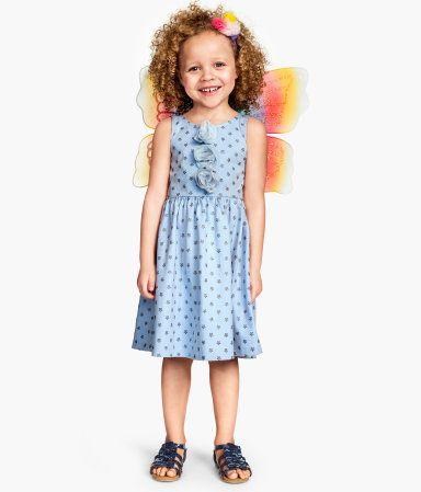 H M Nowa Bawelniana Sukieneczka 98 104 2 4y 4319177542 Oficjalne Archiwum Allegro Fashion Summer Dresses Dresses