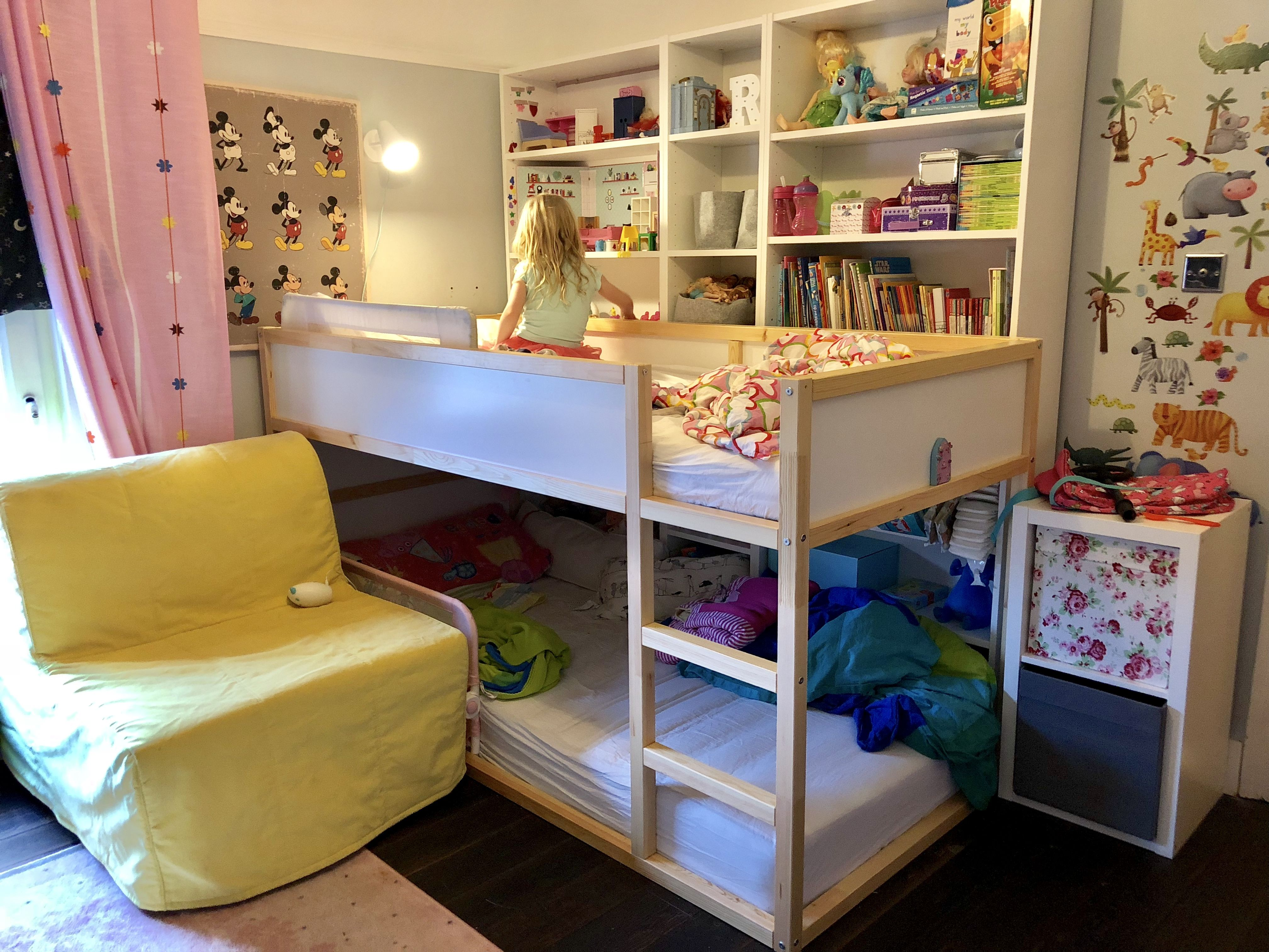 new product f43cb 9249c IKEA Kura Bed with Billy bookcases | kids room in 2019 ...