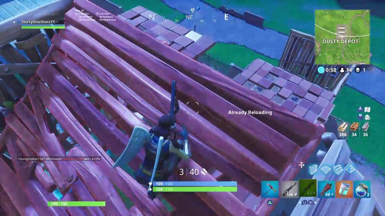 1v1 Build Off Fortnite Battle Royale building