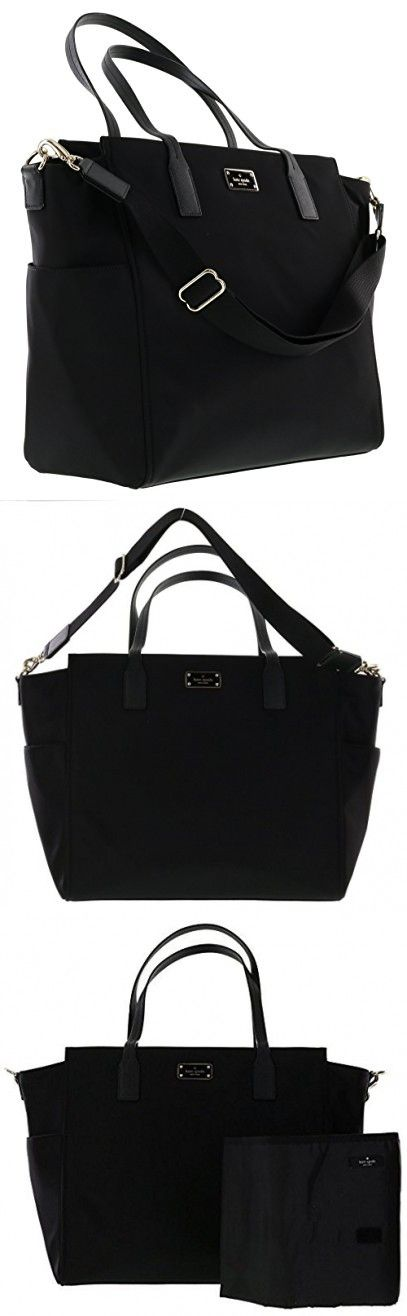 a9825c5d63e4 Kate Spade New York Blake Avenue Kaylie Baby Bag Diaper Bag (Black ...