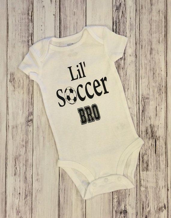 b07047ba418 Soccer little soccer bro soccer brother by BarefootBabyBowtique ...