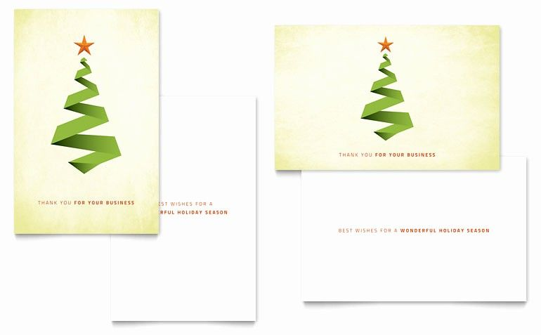 Ms Word Christmas Card Template Lovely Ribbon Tree Greeting Card Template Word Christmas Card Template Birthday Card Template Christmas Greeting Card Template