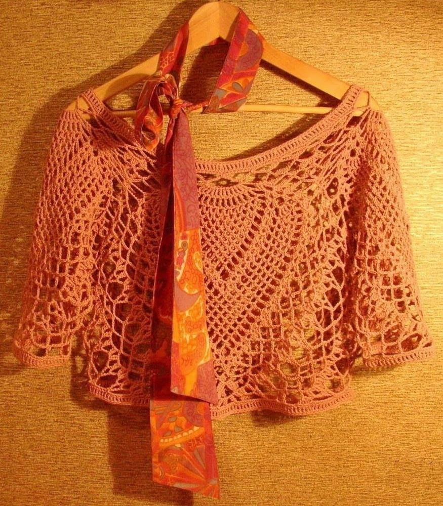 Crochet Shawls: Crochet Lace Poncho Pattern - Gorgeous Lace ...