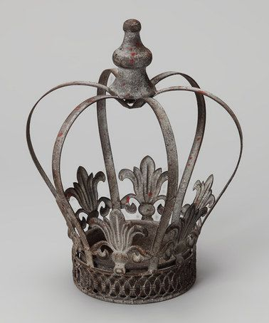 Love this 10'' Metal Crown on #zulily! #zulilyfinds   Crown
