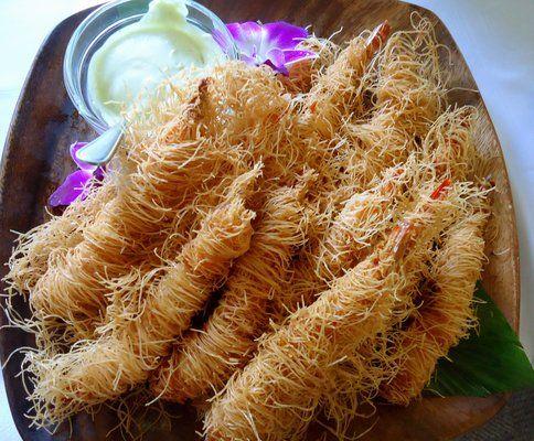 This Was Salmon Kahai Street Kitchen Crispy Kataifi