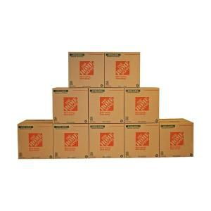 The Home Depot Extra Large Moving Box 10 Pack 22 In L X 22 In W X 21 In D 713644 The Home Depot Large Moving Boxes Moving Boxes Packing