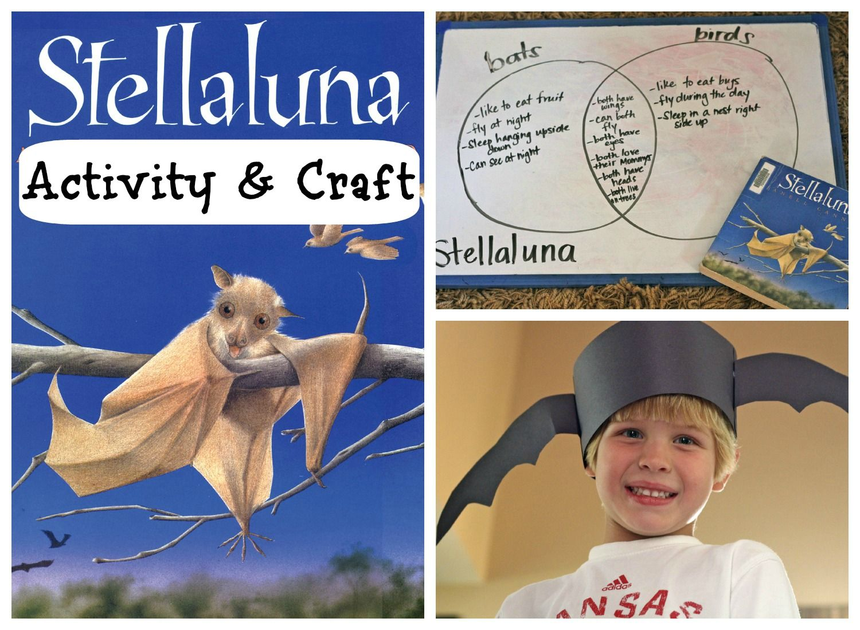 Stellaluna Venn Diagram Activity 2001 Kia Sportage Engine Quotstellaluna Quot And Craft Kidscrafts Activities