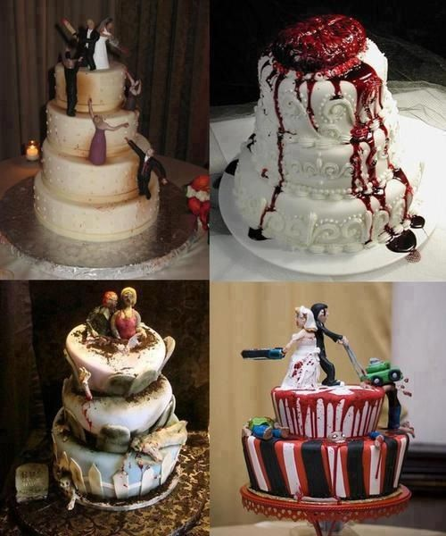 I Want This For My Wedding Cake. Walking Dead Wedding