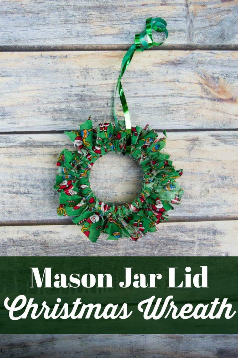 35+ Mason jar lid crafts for christmas information