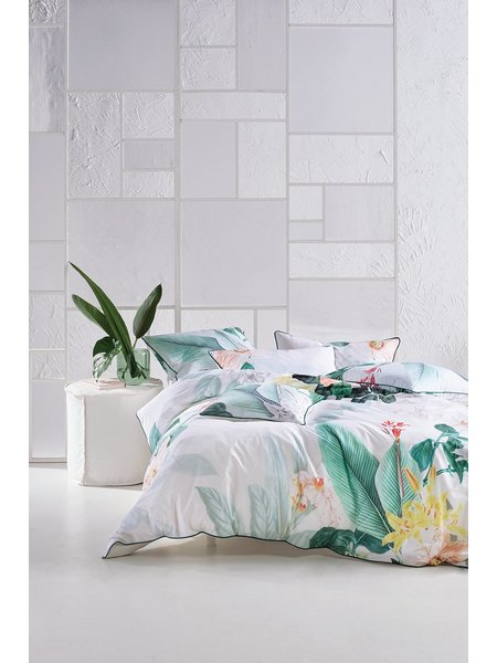Linen House Dusolina Quilt Cover Set King Bed Harris Scarfe
