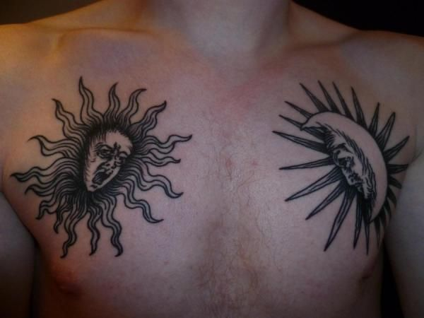 Sun And Moon Tattoos 25 Remarkable Collections Moon Tattoo Designs Sun Tattoo Designs Wild Tattoo