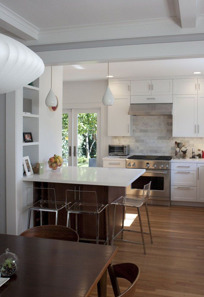 remove wall between kitchen and dining room wall 1930s | jpg ...