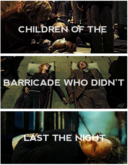 Children of the barricade who didn't last the night