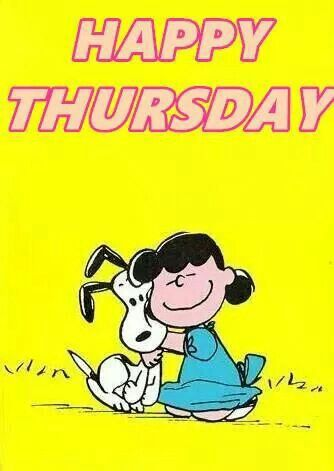 Image result for happy thursday charlie brown