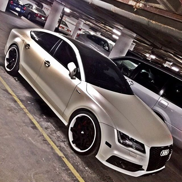 Follow @AutoSport718 Audi A7 Wrapped & Customized By Team