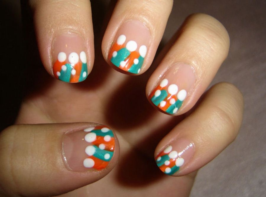 Cool Cute And Easy Nail Designs For Kids Cheerful Easy Nail Art Designs For  Kids Nail