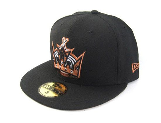 finest selection 2e45f 45bb2 ... coupon code for custom copper los angeles kings new era 59fifty fitted  cap 38016 d74c8
