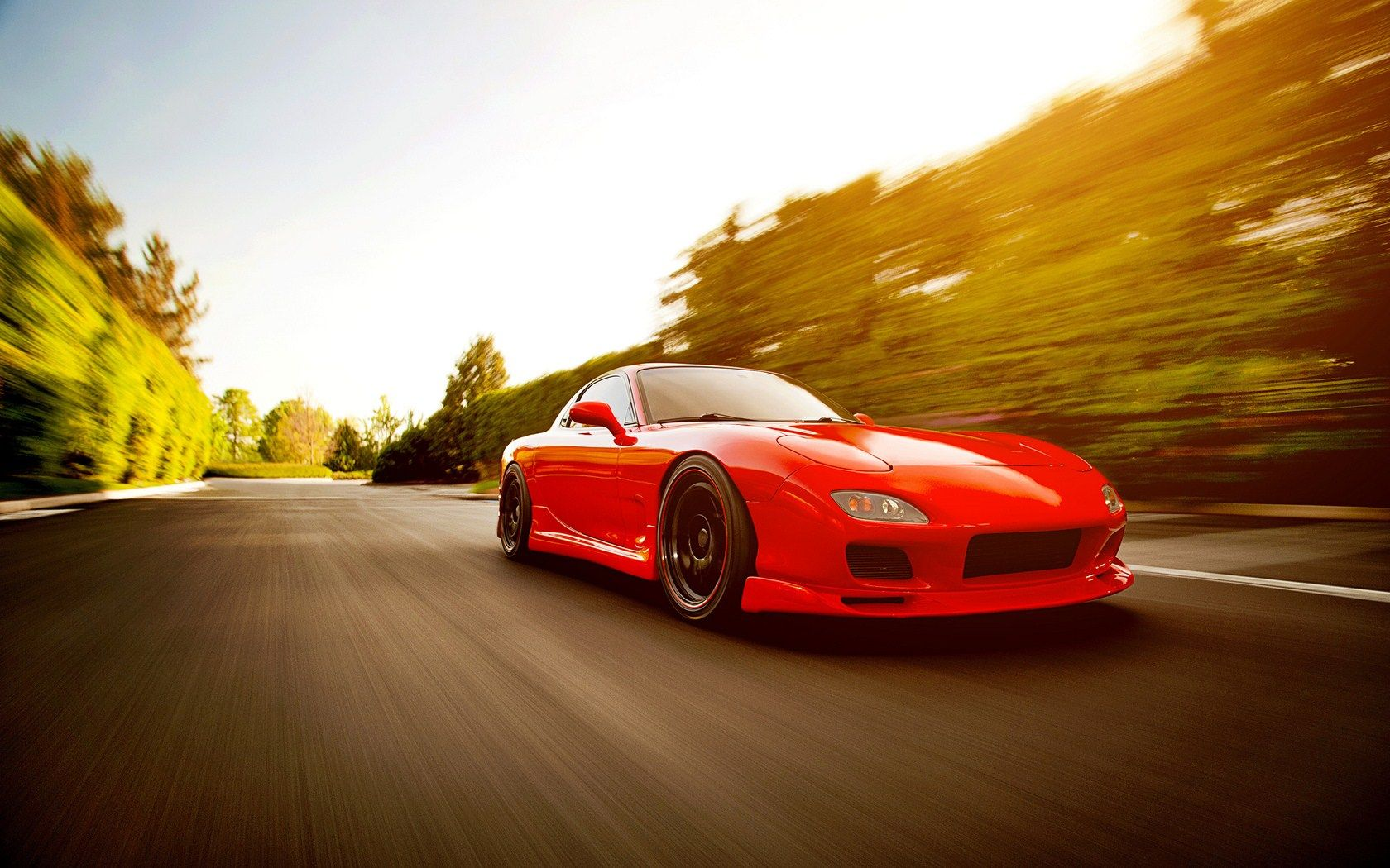Speed Street Mazda RX7 FD Photo HD Wallpaper FreeHDWall