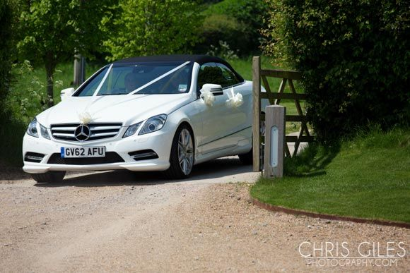 Mercedes wedding car