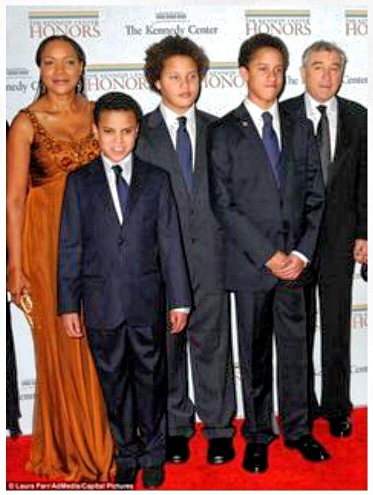 Robert de niro wife and kids