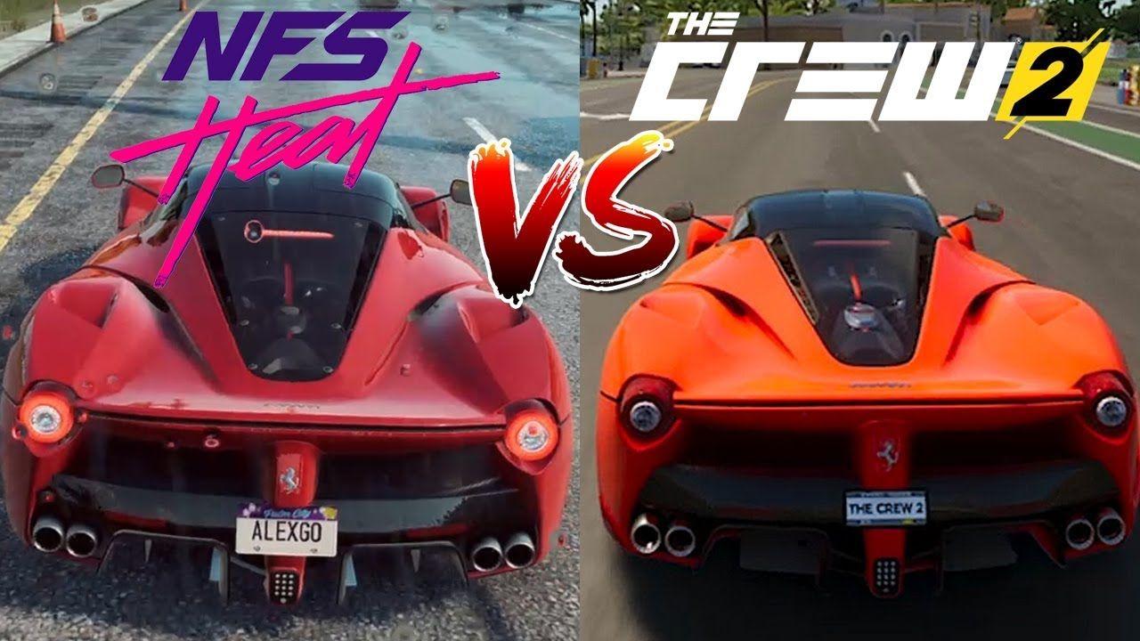 Need For Speed Heat Vs The Crew 2 Ferrari Laferrari Direct Comparison In 2020 Need For Speed Ferrari Laferrari Ferrari